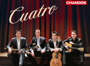 Aquarelle Guitar Quartet | 'Cuatro' | Recording