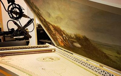 Recording a trio of Theorbo, Viola da Gamba & a Harpsichord